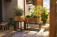 """Pflanzkasten """"Modern"""", rechteckig jetzt für 99.95 Euro kaufen im Frank Flechtwaren und Deko Online Shop"""
