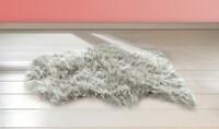 """Kunstfell """"Grau"""" jetzt für 15.95 Euro kaufen im Frank Flechtwaren und Deko Online Shop"""