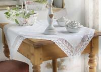 """Tischdecke """"Häkelzierde"""" jetzt für 11.95 Euro kaufen im Frank Flechtwaren und Deko Online Shop"""