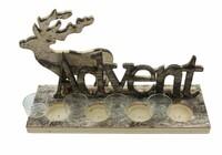 """Teelichthalter """"Advent"""" jetzt für 18.95 Euro kaufen im Frank Flechtwaren und Deko Online Shop"""
