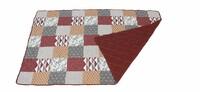 """Tagesdecke """"Squares"""" jetzt für 37.95 Euro kaufen im Frank Flechtwaren und Deko Online Shop"""