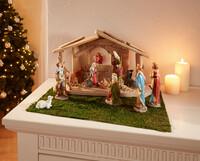 """Deko-Set """"Bethlehem"""" jetzt für 49.95 Euro kaufen im Frank Flechtwaren und Deko Online Shop"""