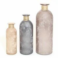 """Vase """"Herzchen"""", 3er Set jetzt für 9.95 Euro kaufen im Frank Flechtwaren und Deko Online Shop"""