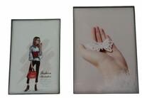 """Bilderrahmen """"Simply"""", 8er Set jetzt für 4.95 Euro kaufen im Frank Flechtwaren und Deko Online Shop"""
