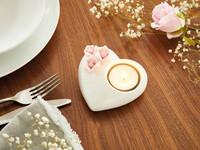"""Teelichthalter """"Romantic Rose"""" jetzt für 4.95 Euro kaufen im Frank Flechtwaren und Deko Online Shop"""