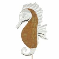 """Gartenstecker """"Seepferdchen"""" jetzt für 6.95 Euro kaufen im Frank Flechtwaren und Deko Online Shop"""