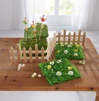 """Kunstrasen """"Blumenwiese"""", 2er Set jetzt für 5.95 Euro kaufen im Frank Flechtwaren und Deko Online Shop"""