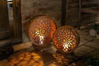 """Windlicht """"Ornament"""", 2er Set jetzt für 39.95 Euro kaufen im Frank Flechtwaren und Deko Online Shop"""
