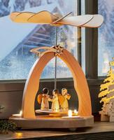"""Kerzenhalter """"Pyramide"""" jetzt für 23.95 Euro kaufen im Frank Flechtwaren und Deko Online Shop"""