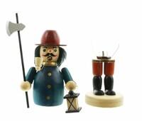 """Räuchermännchen """"Nachtwächter"""" jetzt für 10.95 Euro kaufen im Frank Flechtwaren und Deko Online Shop"""