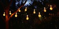 """LED-Lichterkette """"Glühbirne"""" jetzt für 16.95 Euro kaufen im Frank Flechtwaren und Deko Online Shop"""
