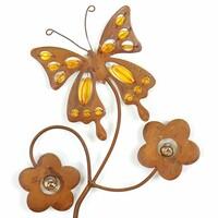 """Gartenstecker """"Schmetterling"""" jetzt für 6.95 Euro kaufen im Frank Flechtwaren und Deko Online Shop"""