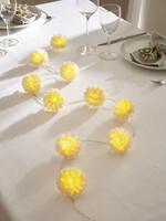 """LED-Lichterkette """"White Flowers"""" jetzt für 3.95 Euro kaufen im Frank Flechtwaren und Deko Online Shop"""