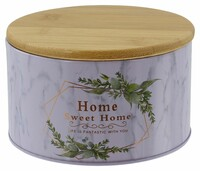 """Vorratsdose """"Home"""" jetzt für 3.95 Euro kaufen im Frank Flechtwaren und Deko Online Shop"""