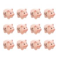 Glücksschweinchen, 12er Set jetzt für 6.95 Euro kaufen im Frank Flechtwaren und Deko Online Shop