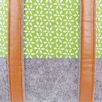 """Tasche """"Green Blossom"""" jetzt für 10.95 Euro kaufen im Frank Flechtwaren und Deko Online Shop"""