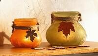 """Windlicht """"Herbstfarben"""", 2er Set jetzt für 8.95 Euro kaufen im Frank Flechtwaren und Deko Online Shop"""