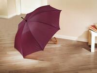 """Regenschirm """"Dark Red"""" jetzt für 6.95 Euro kaufen im Frank Flechtwaren und Deko Online Shop"""