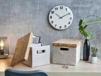 """Aufbewahrungsbox """"Kork"""", 2er Set jetzt für 11.95 Euro kaufen im Frank Flechtwaren und Deko Online Shop"""