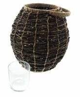 """Windlicht """"Coconut"""" jetzt für 12.95 Euro kaufen im Frank Flechtwaren und Deko Online Shop"""
