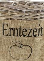 """Füllkorb """"Erntezeit"""" jetzt für 13.95 Euro kaufen im Frank Flechtwaren und Deko Online Shop"""