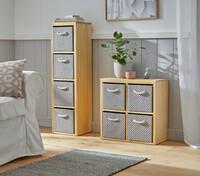 """Kommode """"Modern"""", quadratisch jetzt für 49.95 Euro kaufen im Frank Flechtwaren und Deko Online Shop"""